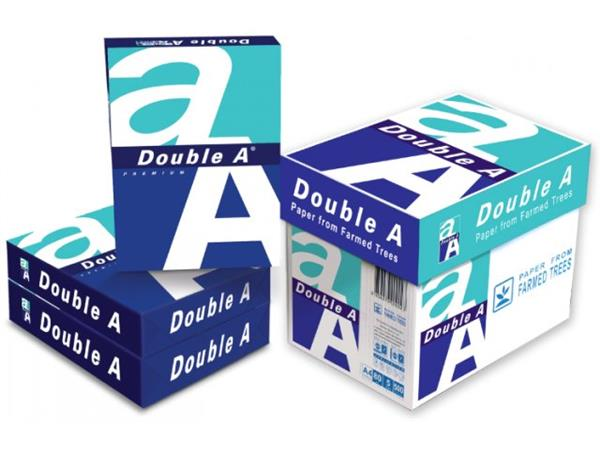 Double A Paper A4, 80 grams, wit (10 dozen / 50 pak)