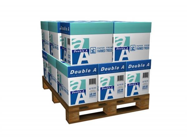 Double A Paper A4, 80 grams, wit (20 dozen / 100 pak)